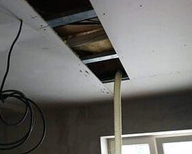 Referencia izolácia sadrokartónového stropu Zvolen 1
