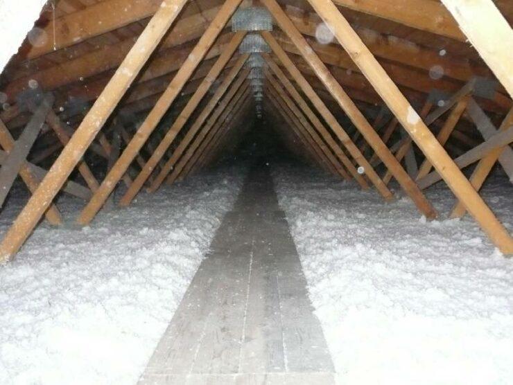Referencia izolácia väzníkového krovu Rohozná