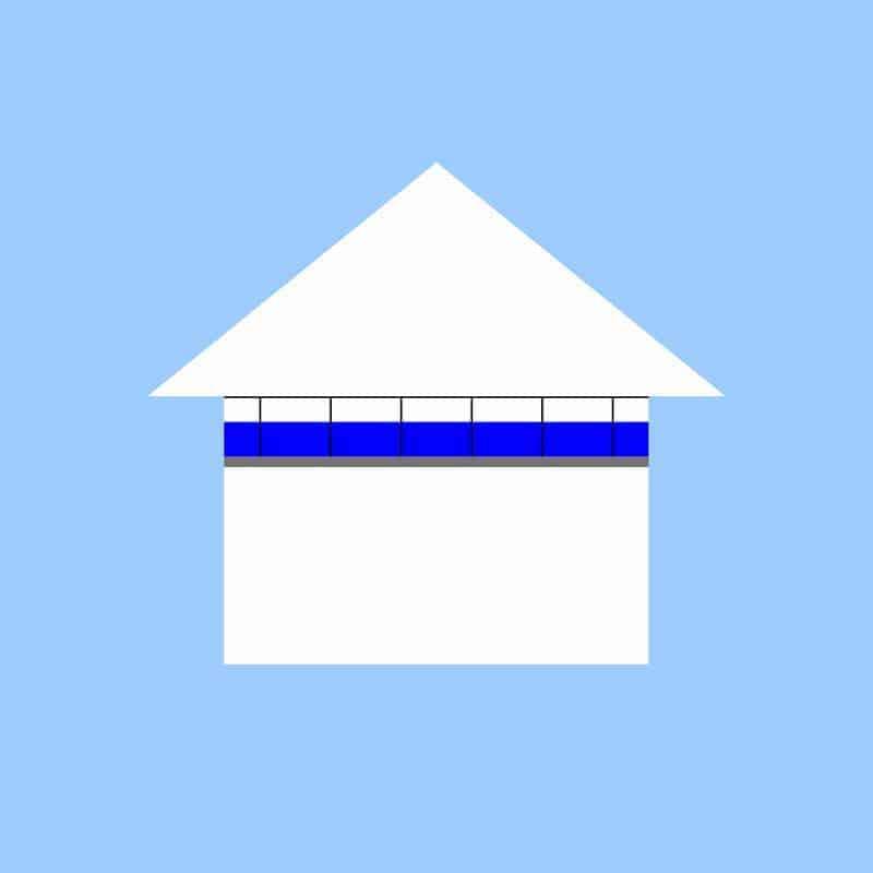 Izolácia sadrokartónového stropu