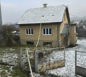 Fúkaná izolácia v staršom dome