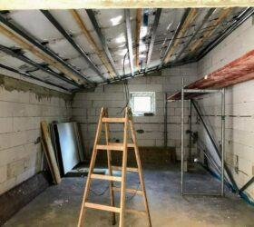 Zateplenie garáže šikmá strecha
