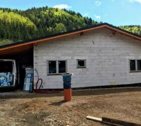 Novostavba bungalov Tále