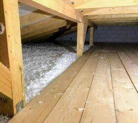 Zateplenie stropu z povaly